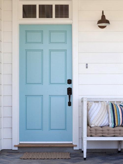 Colorful Front Door | Houzz
