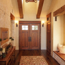 Traditional Entry by SILVERTON CUSTOM HOMES