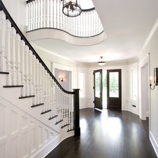 Traditional Entry by Clawson Architects, LLC