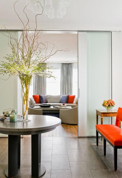 Modern Entry by David Sharff Architect, P.C.