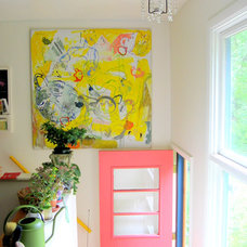 Eclectic Entry by Tamar Schechner/Nest Pretty Things Inc