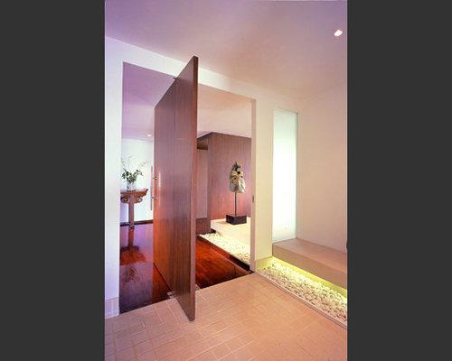 Foto e idee per ingressi e corridoi ingresso o corridoio moderno hong kong - Idee per ingresso moderno ...
