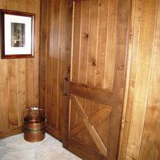 Farmhouse Entry by Fedewa Custom Works