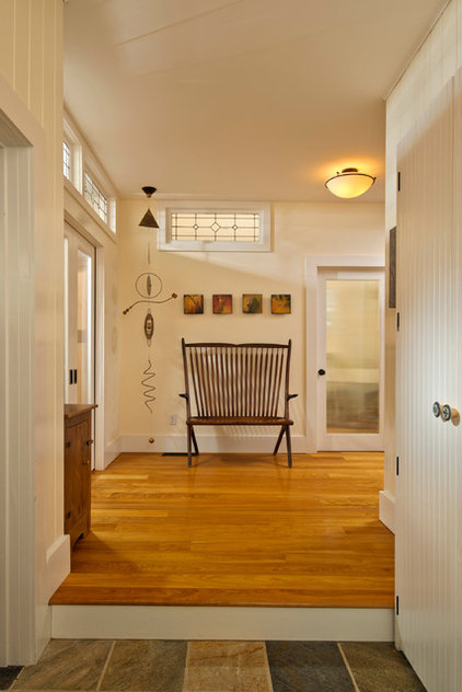 Farmhouse Entry by Phinney Design Group