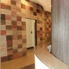 Modern Entry by Reclaimed DesignWorks