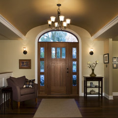 contemporary entry by Margeaux Interiors Inc. - Margaret Presti