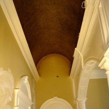 Barrell Vaulted Ceiling in Chesapeake, Va