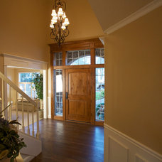 Traditional Entry by DreamBuilder Custom Homes