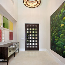 Contemporary Entry by Patterson Custom Homes