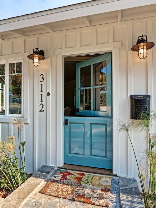 maritimer eingang mit haust r hauseingang eingangsbereich gestalten houzz. Black Bedroom Furniture Sets. Home Design Ideas