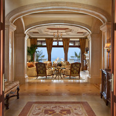 Mediterranean Entry by Kurtz Homes Naples
