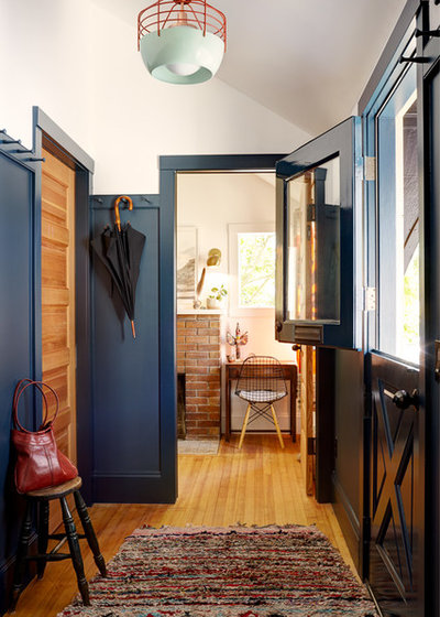 Eclectic Entry by Blue Sound Construction, Inc.