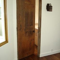 Beach house/Antique Mexican Doors -