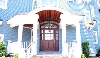 Beach House Entryway - Front door