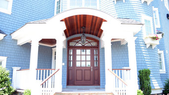 Beach House Entryway - Front door