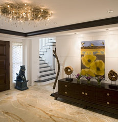 contemporary entry by Bruce Palmer Interior Design