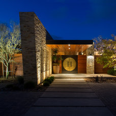 Contemporary Entry by Silva Studios Architecture