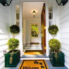 Traditional Entry by Allison Ramsey Architects