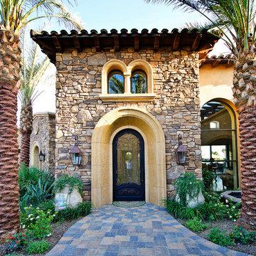 Beautiful Beach House Stone Veneer Combo - Coronado Stone Veneer