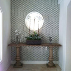 Mediterranean Entry by Natalie Younger Interior Design, Allied ASID