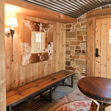 Rustic Entry by High Camp Home