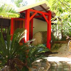 Tropical Entry Bedarra Beach House pre cyclone Yasi
