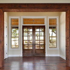 Contemporary Entry by Capstone Custom Homes