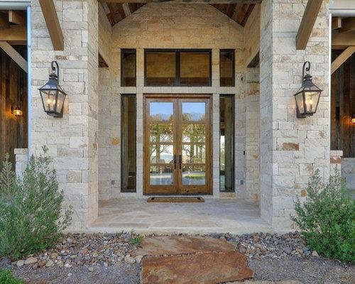 Tr s grande porte d 39 entr e campagne photos et id es d co de portes d 39 entr e de maison ou d - Grande porte d entree ...