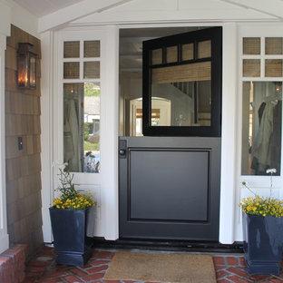 Elegant Dutch Front Door Photo In New York With A Black