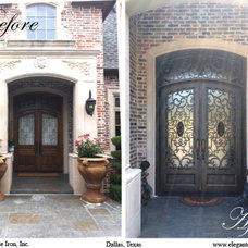 Traditional Entry by Elegante Iron, Inc.