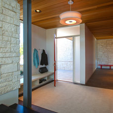 Modern Entry by Camery Hensley Construction, Ltd