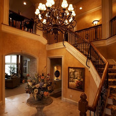 Mediterranean Entry by Barenz Builders