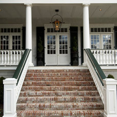 Traditional Entry by Mitchell Barnett Architect, PC