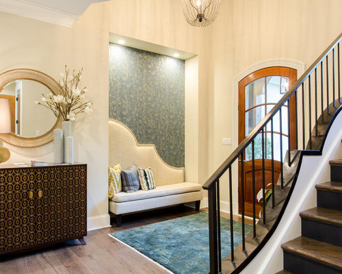 50 Best Transitional Richmond Foyer Ideas & Remodeling Pictures | Houzz