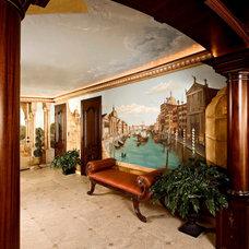Mediterranean Entry by Joni Herman - Renaissance Studios, Muralist