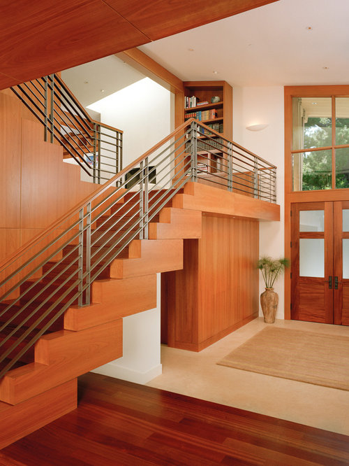 Mid Century Stair Railing Houzz