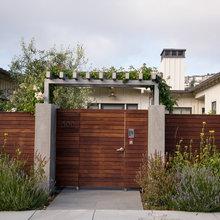 Courtyard Wall