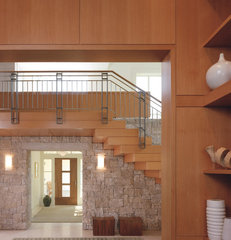 modern entry by Sutton Suzuki Architects