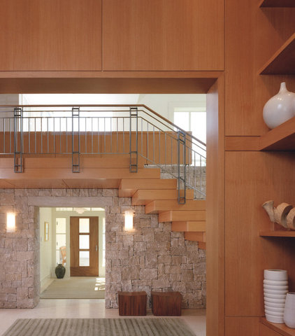 Contemporary Entry by Sutton Suzuki Architects
