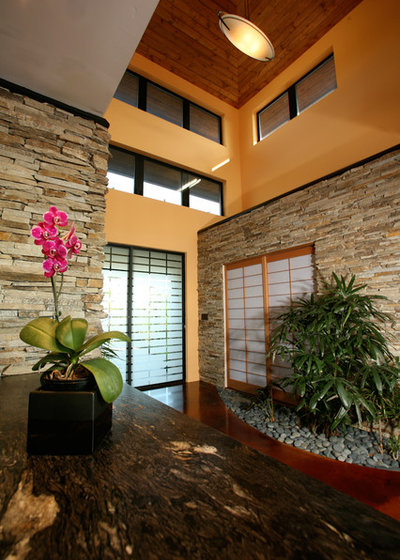 Asian Entry by Mark A Silva, Architect