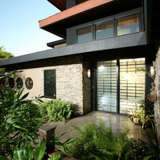 Asian Entry by Silva Studios Architecture