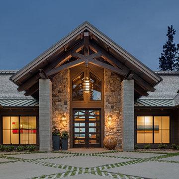 Bennett Bay Residence on Lake Coeur d'Alene