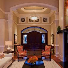 Transitional Entry by Harwick Homes