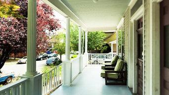 Benton historic porch remodel