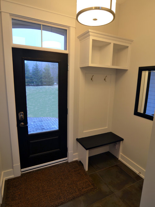 Small mudroom ideas pictures remodel and decor - Small space room design image ...