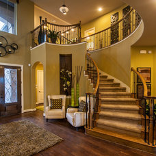 Traditional Entry by Meritage Homes