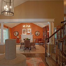 Traditional Entry by Michelle Miller Interiors