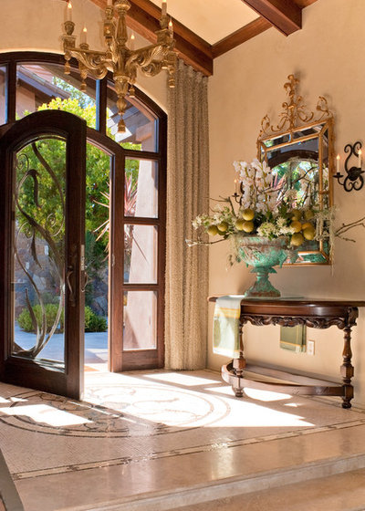 Mediterranean Entry by Jeffrey Doherty Designer