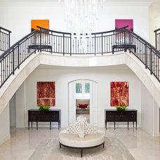 Contemporary Entry by Smith Firestone Associates