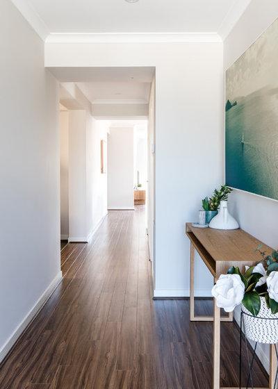 Contemporary Entrance by Mos Interiors